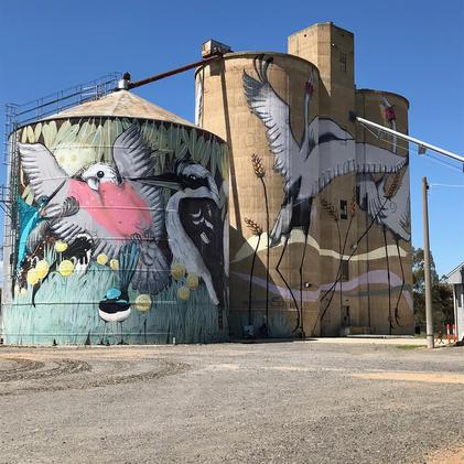 North East Victoria Silo Art Trail