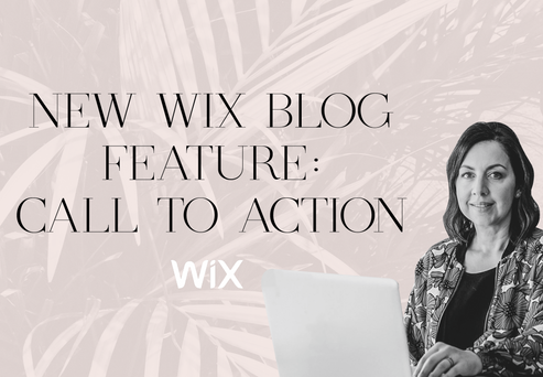NEW WIX BLOG FEATURE: CALL TO ACTION