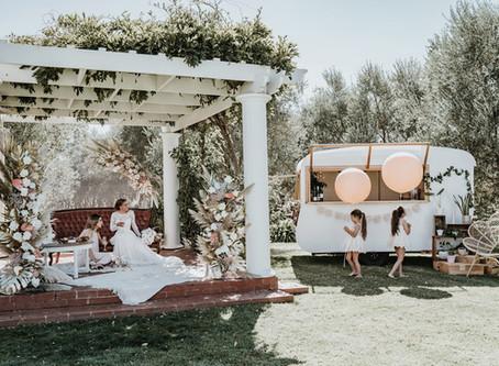 Styled shoot – boho bride
