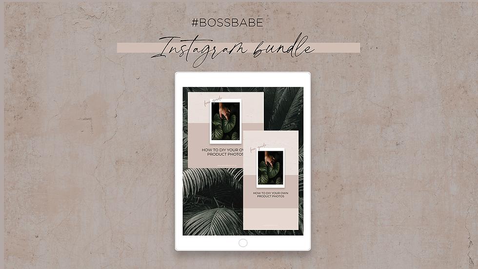 #bossbabe Insta Bundle
