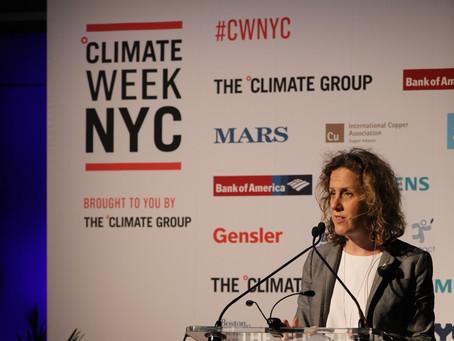 NEW YORK CLIMATE WEEK