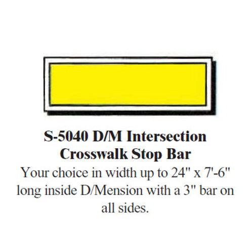 Intersection Crosswalk Bar