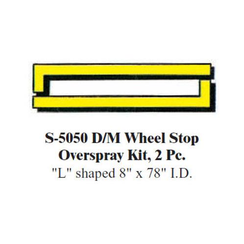 Wheel Stop Overspray Kit