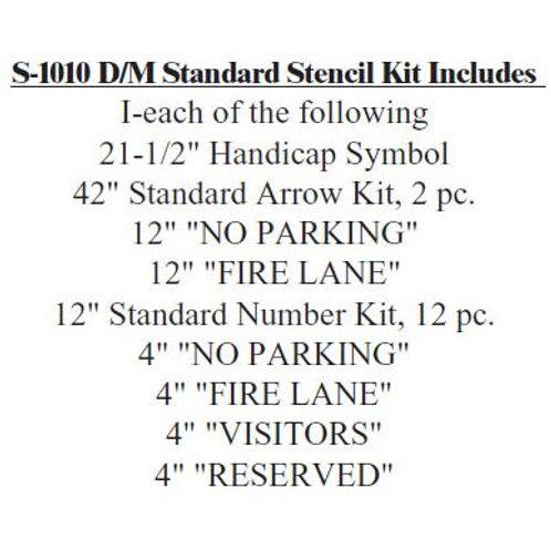 Standard Stencil Kit