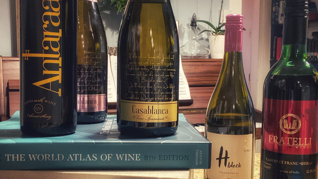 The Great Grapes of India; Five Indian Wines to Explore