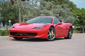 Veluxity™ to offer Ferrari 458 Rental to NYC, NJ, CT, MA, PA, Long Island and The Hamptons