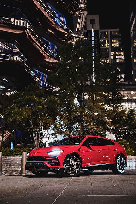Lamborghini Urus Rental NYC