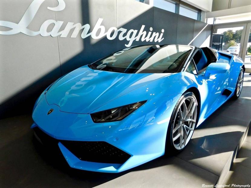 Lamborghini Huracan Spyder Rental Miami