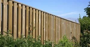 Fencing which allows the wind to pass right through