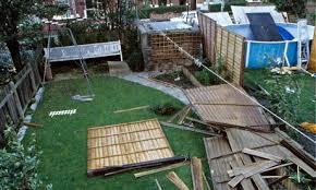 Storm damaged fencing??
