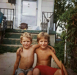 Josh (right) and Luther (left)