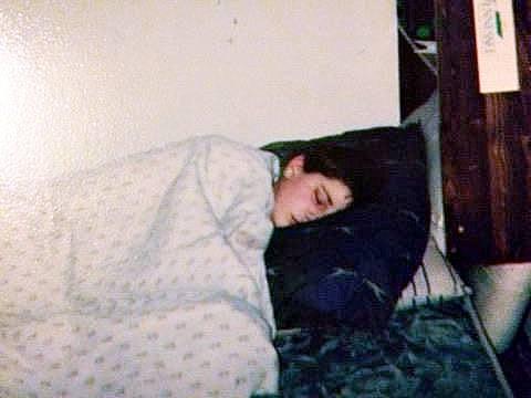 Josh Sleeping