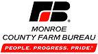 Monroe County Farm Bureau logo