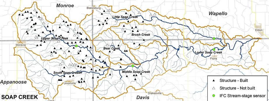 Soap Cree Map