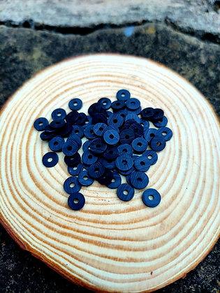 Black Polymer Clay Heishi Beads