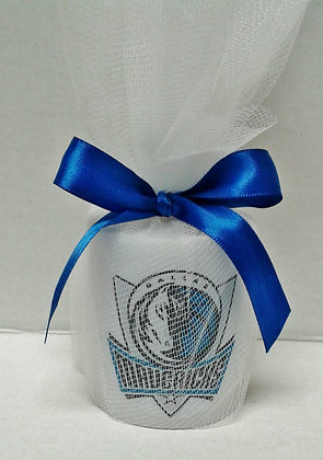 Dallas Mavericks Personalized Candle