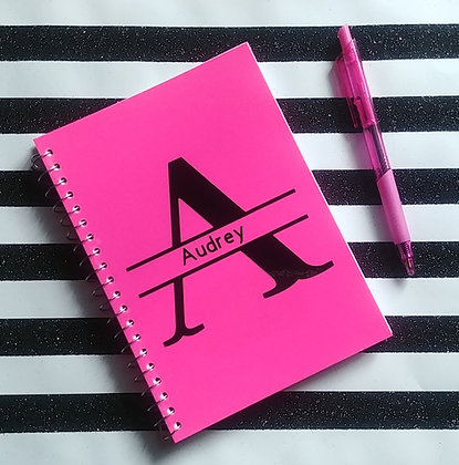 Personalized Notebook (Pink)