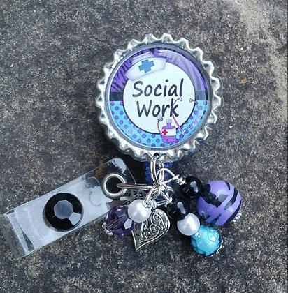 Social Work I.D. Badge Holder
