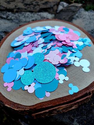 Pastel Mickey Confetti
