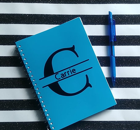 Personalized Notebook (Blue)
