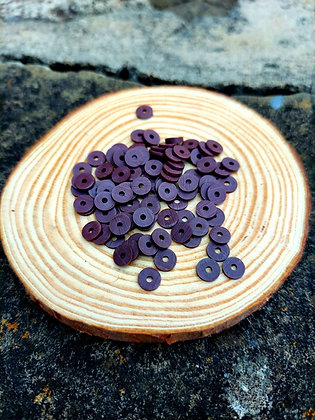 Brown Polymer Clay Heishi Beads