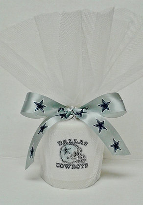 Dallas Cowboys Personalized Candle