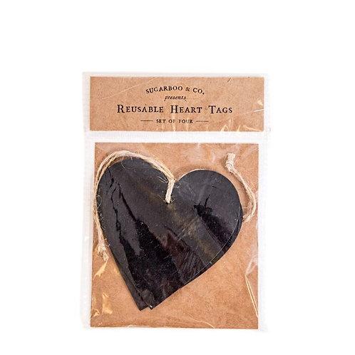 Reusable Heart Tags