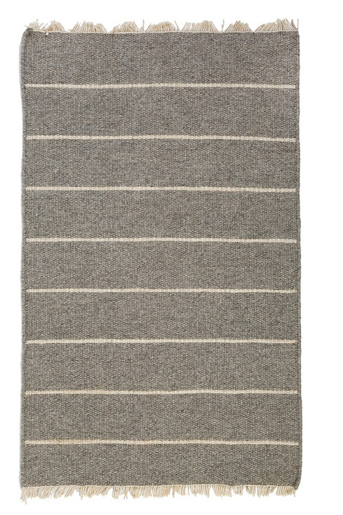Warby Handwoven Rug-Light Grey