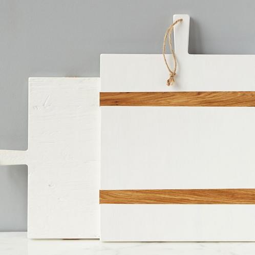 Medium White Mod Charcuterie Board