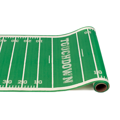 Touchdown Paper Table Runner