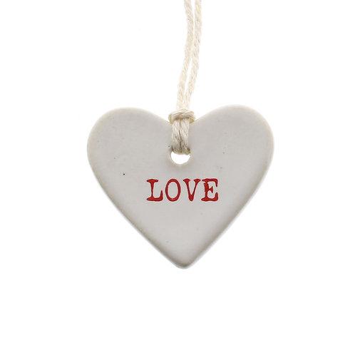 CERAMIC TAG - LOVE