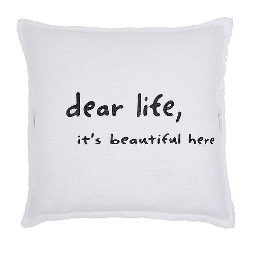 """Dear Life 26"""" Down Filled Pillow"""