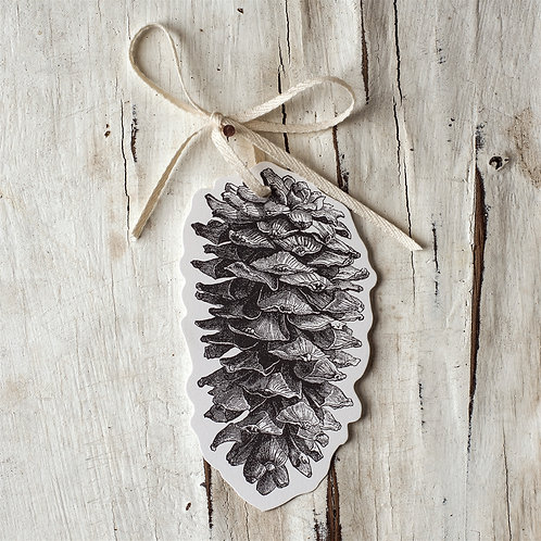 Pinecone Gift Tags