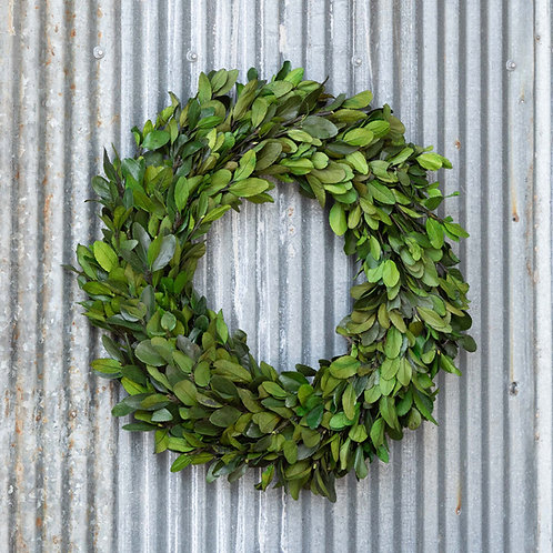 "20""Gathered Laurel Wreath"