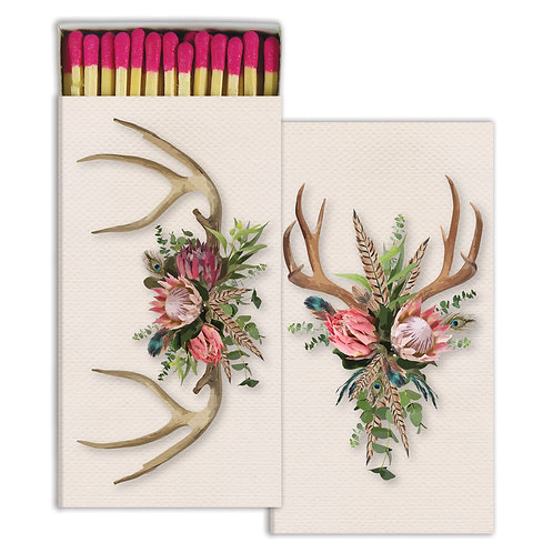 MATCHES - BOHEMIAN ANTLERS - PINK