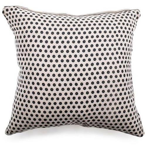 Reversible Polka Dot Pillow