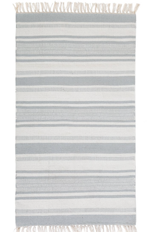Calypso Handwoven Rug- Nordic Blue
