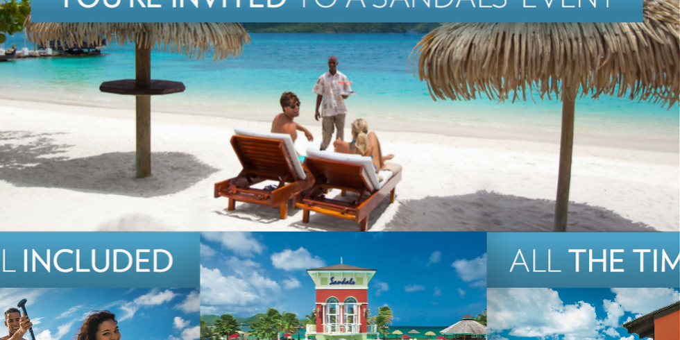 Caribbean Day Party - A Sandals Event