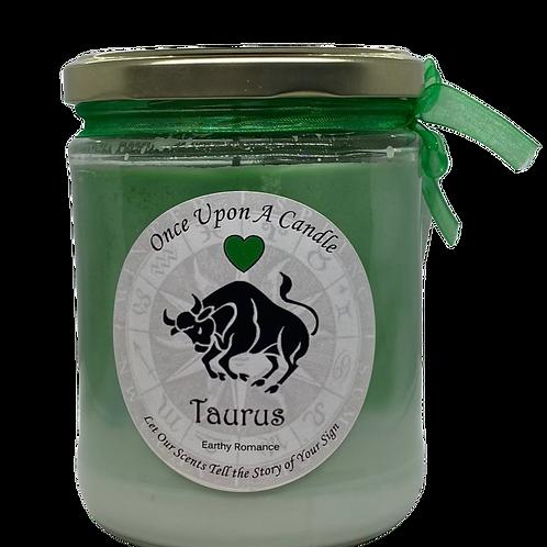 Taurus Candle