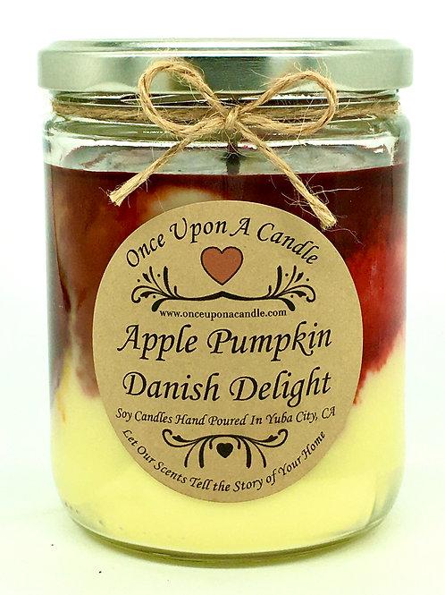 Apple Pumpkin Danish Delight