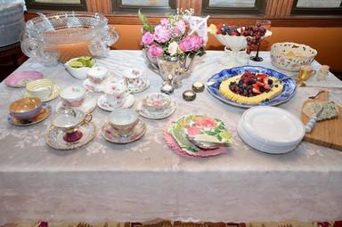 Silver Tie Servers Tea Party