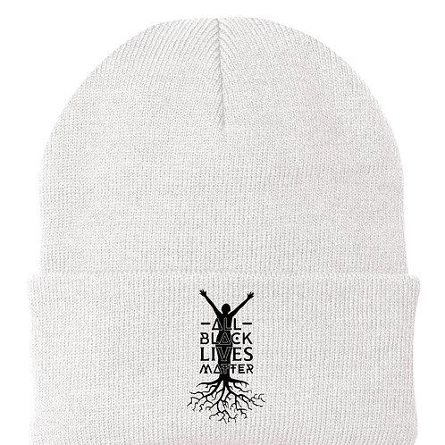 ALL BLACK LIVES MATTER   The Hat (White)