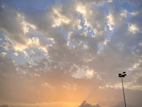 Sunrise in Lagos