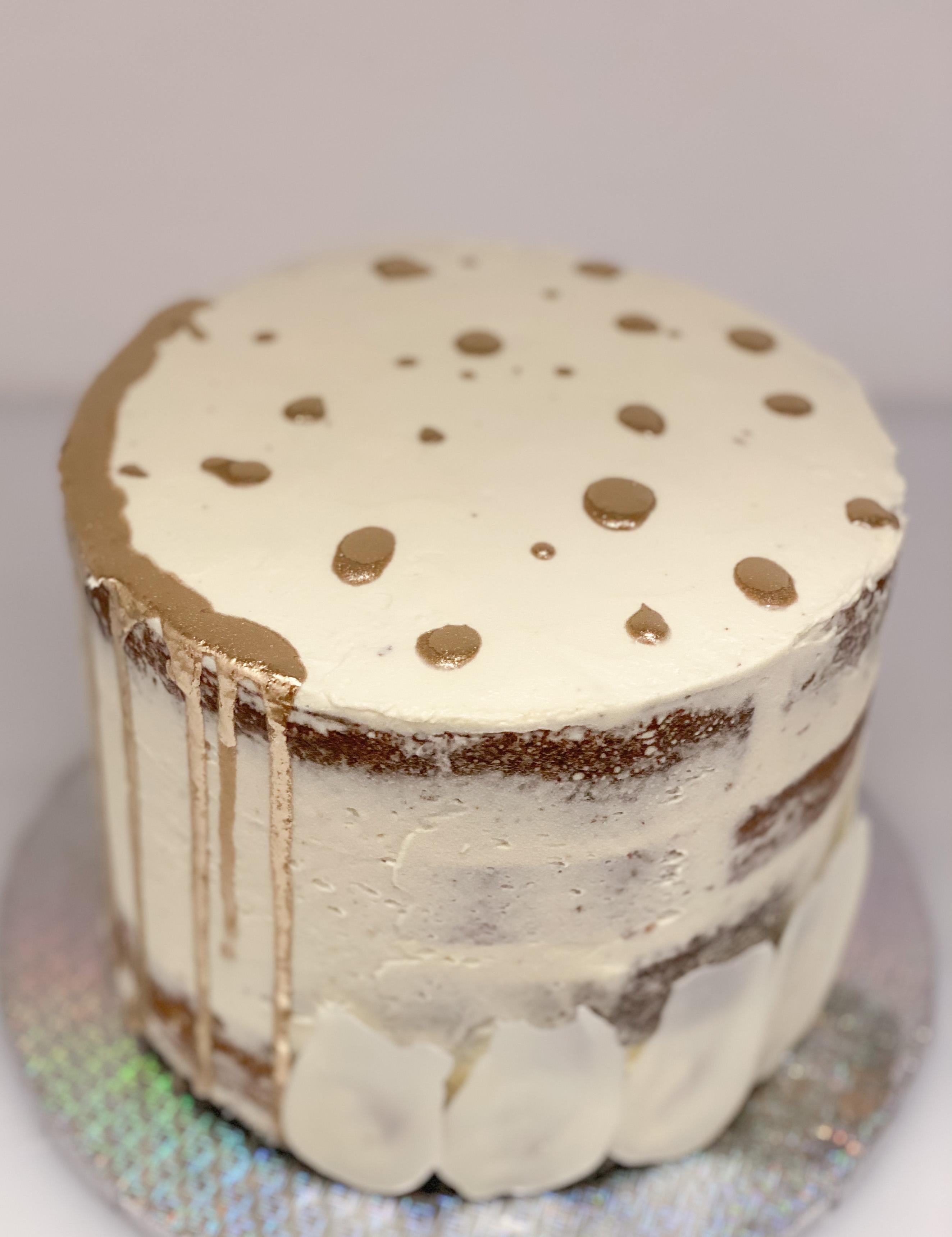 Modern Galaxy cake