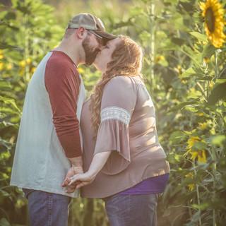 Couple Photoshoot Sunflower Field