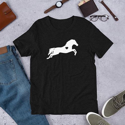 Heart Horse Short Sleeve T-Shirt