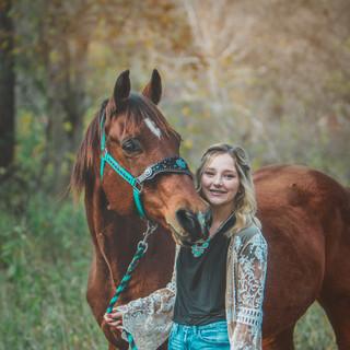 Senior Portrait Equine Photography