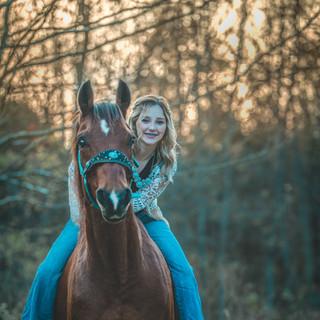 Equestrian Senior Portrait