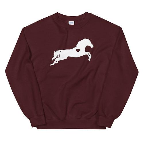 Heart Horse Sweatshirt