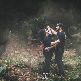 Ghostly Haunted Halloween Photoshoot